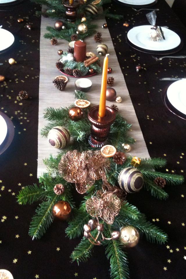 Christmas Table Decoration Stylekompass