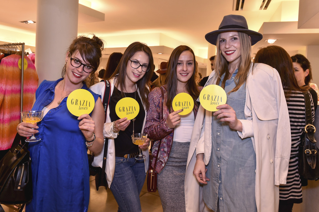 Marc Cain & Grazia Host Store Event In Stuttgart