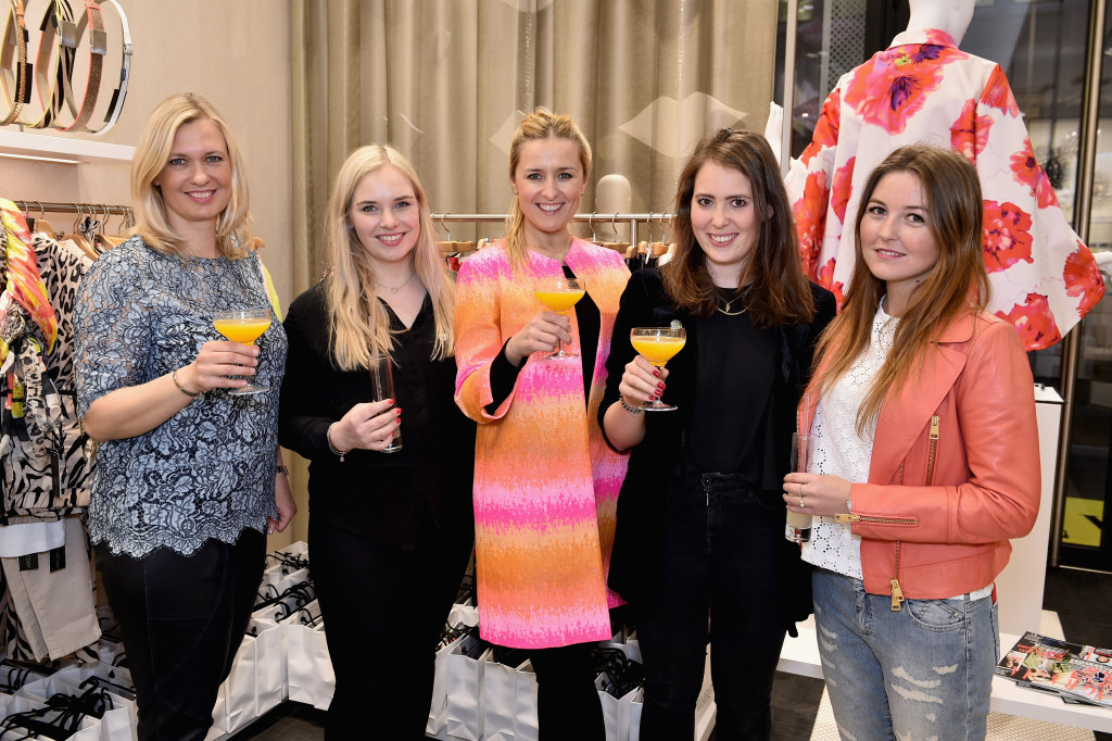 Marc Cain & Grazia Host Store Event In Duesseldorf